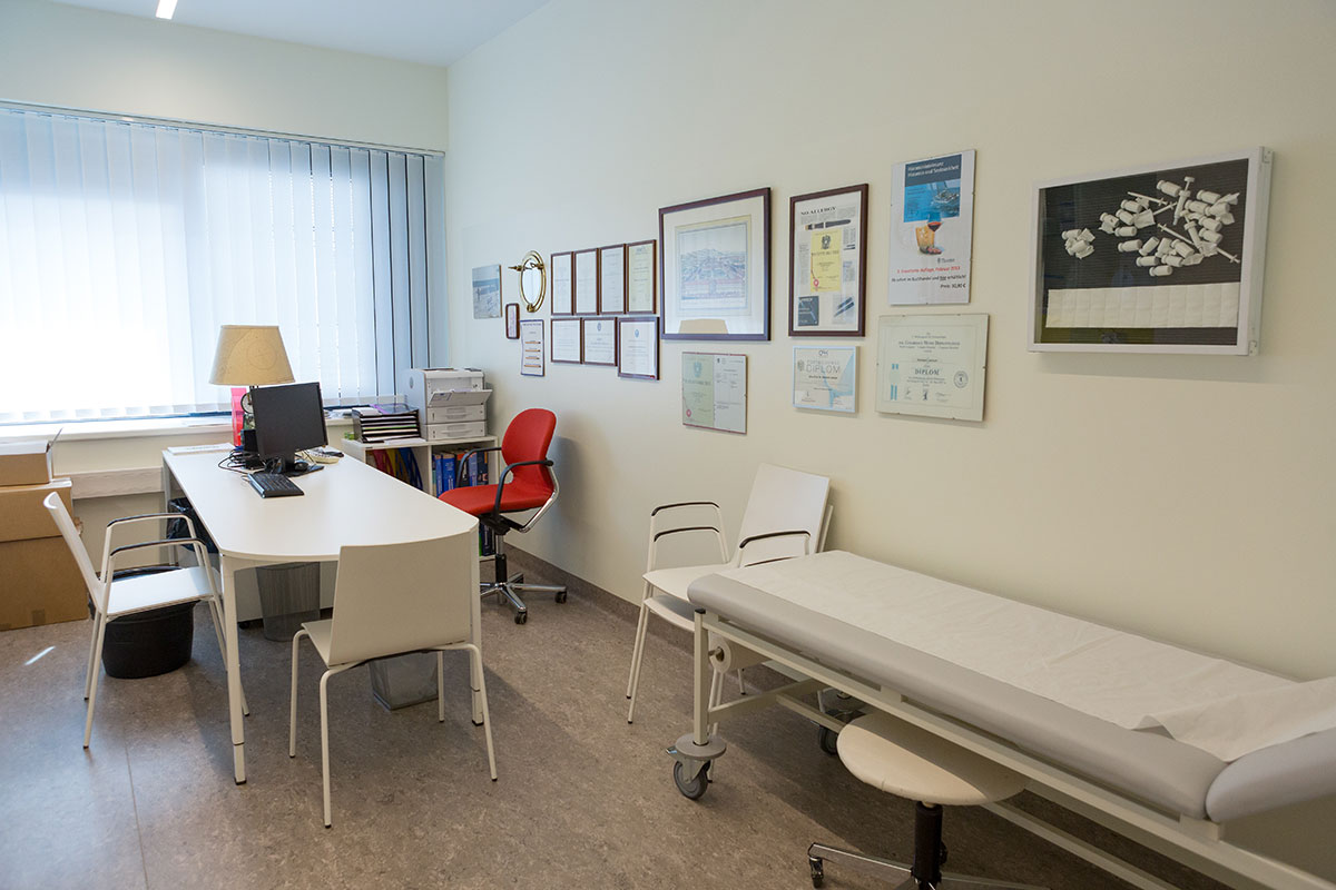 [Translate to English:] Floridsdorfer Allergie Zentrum Immuntherapie